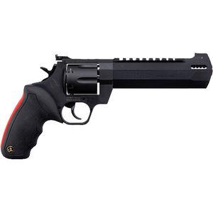 "Taurus Raging Hunter .44 Rem Mag DA/SA Revolver 6.75 "" Ported Barrel 6 Rounds Adjustable Rear Sight Picatinny Top Rail Rubber Grip Matte Black"