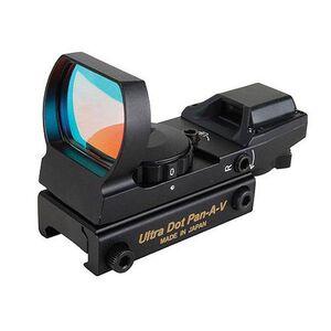UltraDot Pan-AV Red Dot, Black