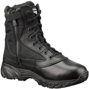 "Original S.W.A.T. Chase 9"" Tactical Side Zip Boot Nylon/Leather Size 8 Regular Black 1312-BLK-8"