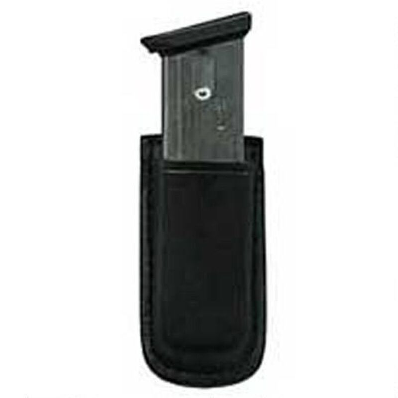Don Hume Clip On Mag Pouch Leather GLOCK 43 Black