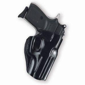 Galco Stinger GLOCK 42 Belt Holster Right Hand Leather Black SG600B