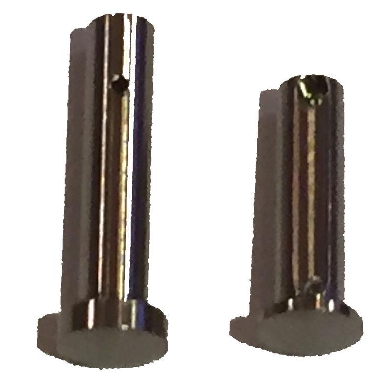 Iron City Rifle Works AR-15 Mil-Spec Take Down Pins Raw Natural Titanium Polished Finish
