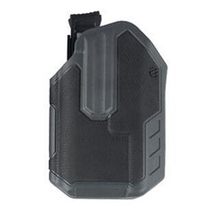 BLACKHAWK! Omnivore Semi Auto with Surefire X300/X300U-A Multifit Belt Holster Level 2 Retention Left Hand Polymer Urban Gray and Black