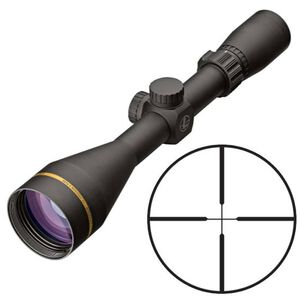 "Leupold VX-Freedom 3-9x50 Riflescope Duplex Non-Illuminated Reticle 1"" Tube .25 MOA Adjustments Finger Click Turrets Second Focal Plane Matte Black Finish"