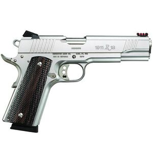 "Remington 1911 R1 Enhanced Semi Auto Handgun .45 ACP 5"" Barrel 8 Rounds Laminated Grips Adjustable Fiber Optic Sights 96329"