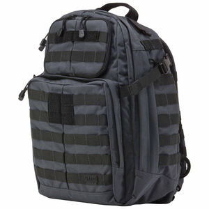 5.11 Tactical RUSH24 Backpack 37L Total Capacity Nylon Double Tap