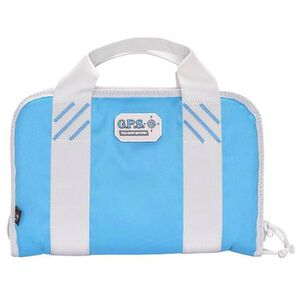 G-Outdoors G.P.S. Dual Pistol Case Nylon Robins Egg Blue