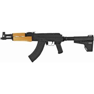 "Century Arms Draco 7.62x39 Soviet Semi Auto Pistol 12.25"" Barrel 30 Rounds KAK Shockwave Blade Pistol Brace Polymer Pistol Grip Matte Black"