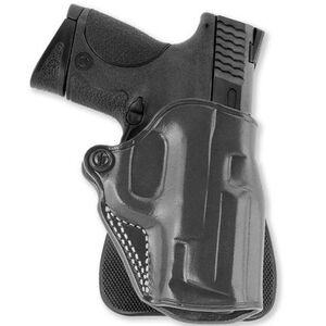 "Galco Speed Paddle Holster S&W J Frame 2"" Right Hand Leather Black SPD158B"