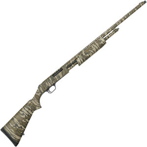 "Mossberg 500 Turkey .410 Bore Pump Action Shotgun 26"" Barrel 5 Rounds 3"" Chamber FO Front Sight Synthetic Stock Mossy Oak Original Bottomland Camo"