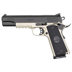 "EAA GiRSAN MC1911S Government Model .45 ACP Semi Auto Pistol 5"" Barrel 8 Rounds Ambidextrous Safety Two Tone Finish"