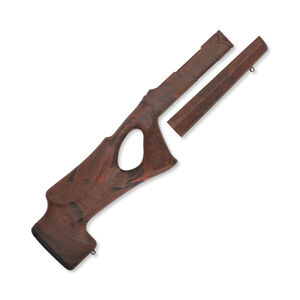 Hogue Ruger 10-22 Takedown OverMolded Thumbhole Stock Standard Barrel Red Lava 21042