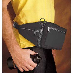 DeSantis Gunny Sack II Fanny Pack Holster Small Sub Compacts Semi Auto Handguns/Revolvers Ambidextrous Nylon Black