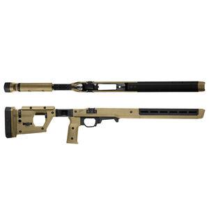 Magpul Pro Fixed Stock for Remington 700 Short Action Calibers M-LOK Modular Attachment Slots Full Billet Aluminum Skeleton Ambidextrous Flat Dark Earth Finish