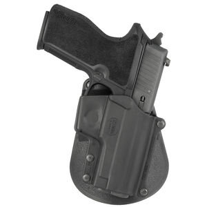 Fobus Holster SIG P229/S&W M&P Shield/Steyr Model M Right Hand Paddle Attachment Polymer Black