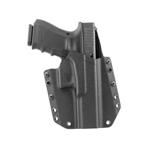 Mission First Tactical OWB Holster For GLOCK 17/22 Right Hand Polymer Black HGL17OWB-BL