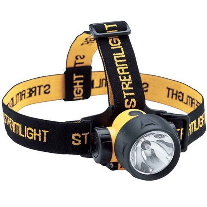 Streamlight Trident Xenon/LED Combination Headlamp 24 Lumen 3x AAA Battery Click Type Thermoplastic Body Yellow 61050