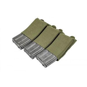 Blue Force Gear Ten-Speed Triple M4 Mag Pouch Olive Drab Green HW-TSP-M4-3-OD