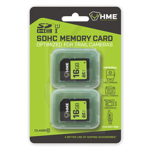 Hunting Made Easy 16 GB SD Memory Card Double SD Card Package