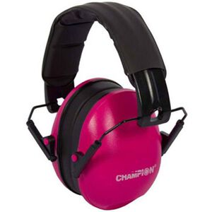 Champion Passive Ear Muffs Pink 21 dB NRR 40972