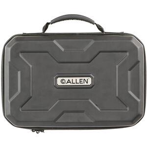 """Allen Exo 12"""" Handgun Case Thermo-molded Exoskeleton Black"""