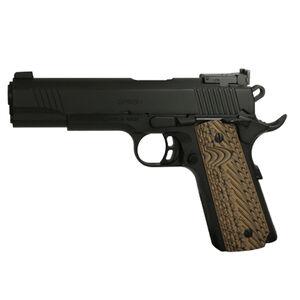 "EAA GiRSAN MC1911 Match Model .45 ACP Semi Auto Pistol 5"" Barrel 8 Rounds Adjustable Rear Sight Ambidextrous Safety Black Finish"