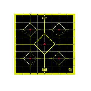 "Pro-Shot Splatter Shot Peel & Stick 8"" Sight In Target 6 Pack Green"