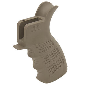 UTG PRO AR-15 Ambidextrous Pistol Grip USA Made Polymer FDE RBUPG01D