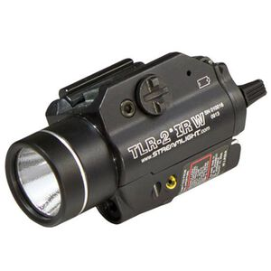 Streamlight TLR-2 IRW LED Weapon Light with Infrared Laser 300 Lumens 2x CR123 Batteries Toggle Switch Aluminum Black 69165