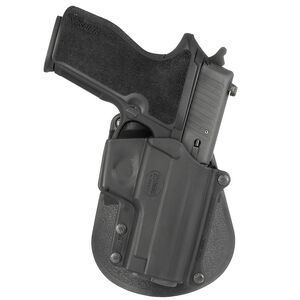 Fobus Holster SIG P229/S&W M&P Shield/Steyr Model M Right Hand Roto-Paddle Attachment Polymer Black