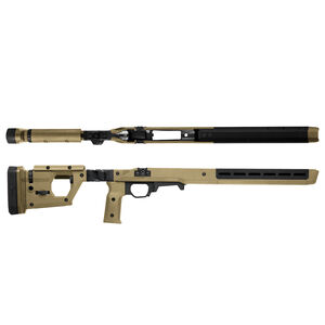 Magpul Pro Stock for Remington 700 Short Action Calibers M-LOK Modular Attachment Slots Full Billet Aluminum Skeleton Ambidextrous Flat Dark Earth Finish