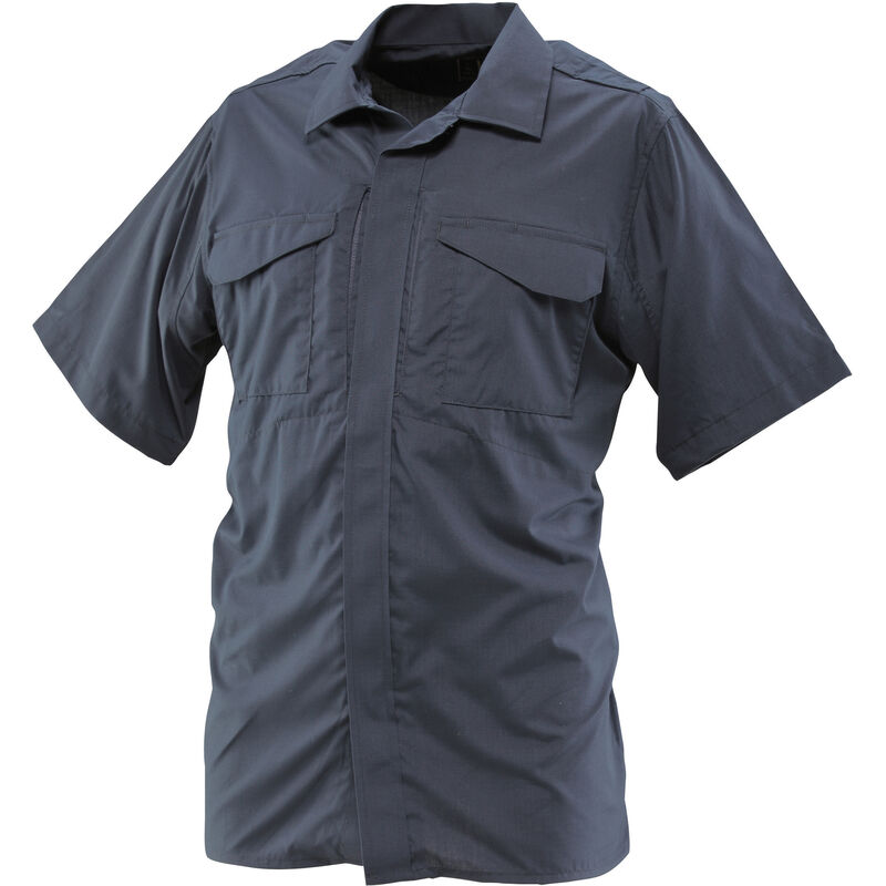 24-7 Uniform Shirt Size: 2X-Large Regular Color: Navy Sleeve Length: Short