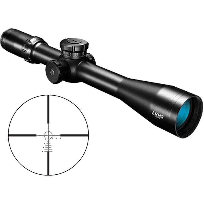 Bushnell Elite Long Range Hunter LRHS 4.5-18x44 Riflescope Illuminated G2H-i Mil Reticle 30mm  FFP Tube Side Parallax Adjustment Matte Black