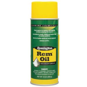 Remington Rem-Oil Liquid Gun Lube 10 oz. Aerosol Can 6 Pack Remington 24027