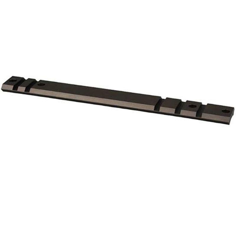 Warne Maxima Steel One Piece Weaver Style Scope Base Ruger 10/22 10 MOA Pattern Matte Black A1022M