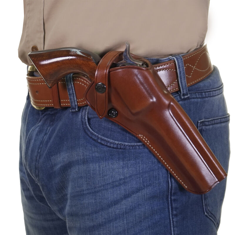 Galco Single-Action Outdoorsman Belt Holster Ruger Single Six 6-1/2
