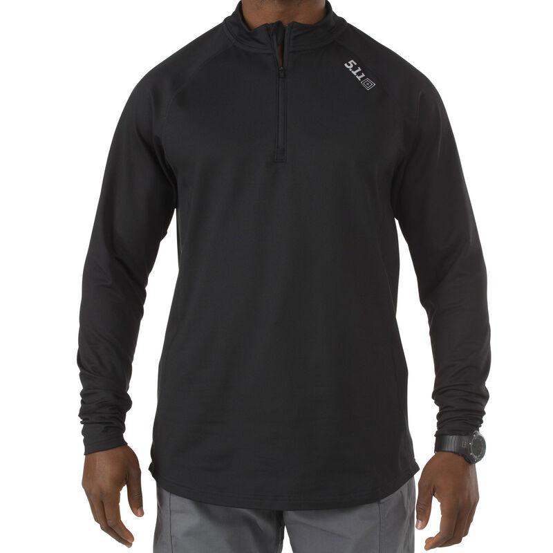 5.11 Tactical Sub Z Quarter Zip Long Sleeve Shirt Small Black 40149019S