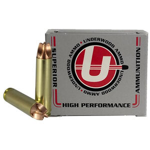 Underwood Ammo .450 Bushmaster Ammunition 20 Round Box 220 Grain Xtreme Hunter Solid Copper 2385 fps