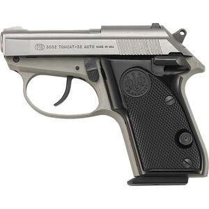 "Beretta 3032 Tomcat Inox .32 ACP DA/SA Semi Auto Pistol 2.4"" Barrel 7 Rounds Black Synthetic Grip Stainless Finish"