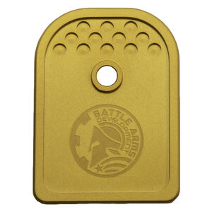 Battle Arms Development Anodized Aluminum Base Plate for Glock 9/40/357 Sig Gold