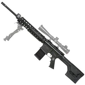 "ArmaLite AR-10 A-Series Super SASS .308 Winchester Semi Auto Rifle 20"" Barrel 20 Round PMAG Free Float Quad Rail Magpul PRS Stock Black"