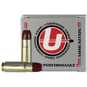 Underwood Ammo .458 SOCOM Ammunition Subsonic 500 Grain Hi -Tek Coated Hard Cast Flat Nose Projectile 1070 fps