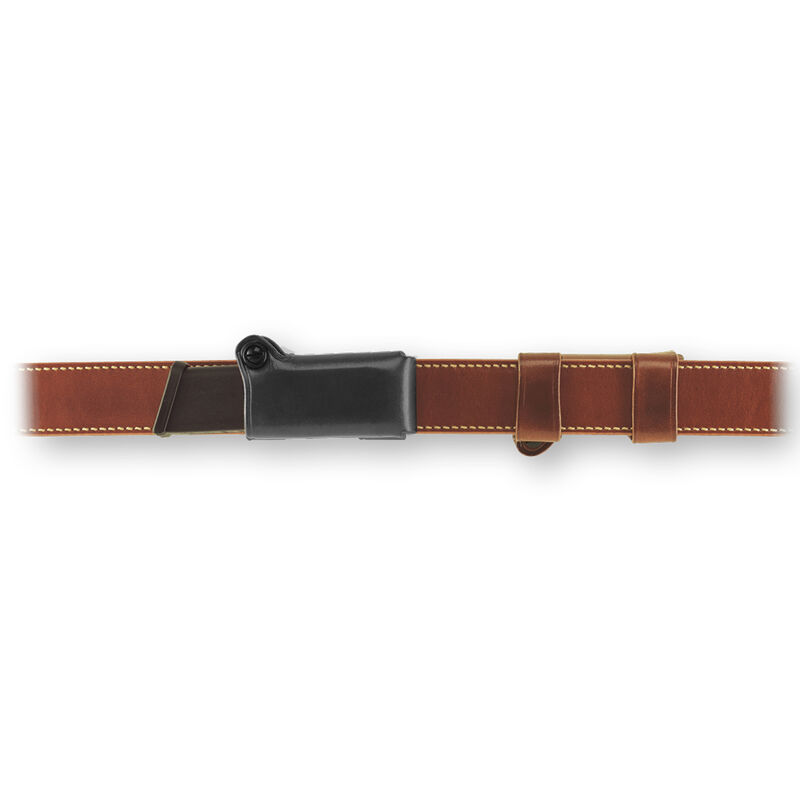Galco HMC GLOCK M&P Horizontal Magazine Carrier, Black Leather