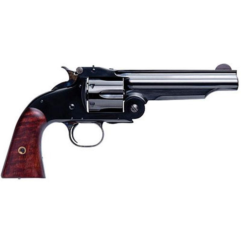 "Cimarron Model 3 1st Model American Revolver .44-40 Winchester 5"" Barrel 6 Rounds Wood Grips Blued Finish"
