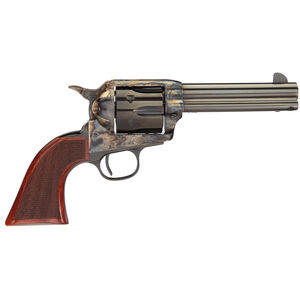 "Taylor's & Company Runnin' Iron Revolver .357 Mag 4 3/4"" Barrel 6 Rounds Walnut Grips Case Hardened and Blue Finish"