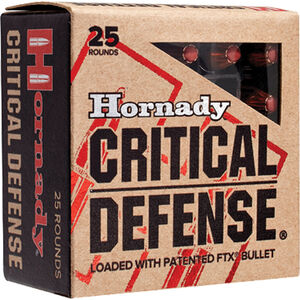 Hornady Critical Defense .32 H&R Magnum Ammunition 25 Rounds FTX 80 Grains 90060