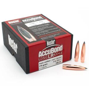 Nosler 7mm Ammunition 100 Round Pack Accubond PT 175 Grains