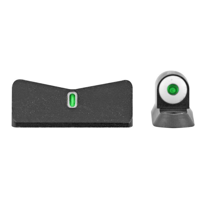 XS Sight Systems DXT Big Dot Night Sights Sphinx Green Tritium Front/Tritium Rear Matte Black