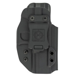 """C&G Holsters Covert IWB Holster For Walther PDP 4"""" Barrel Models Right Hand Draw Kydex Black"""