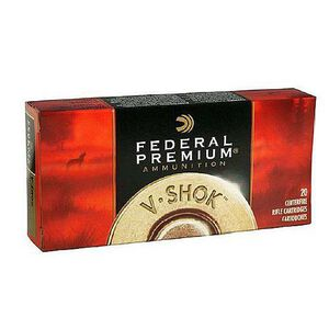 Federal V-Shok .22 Hornet Ammunition 50 Rounds Speer TNT Green 30 Grains P22D